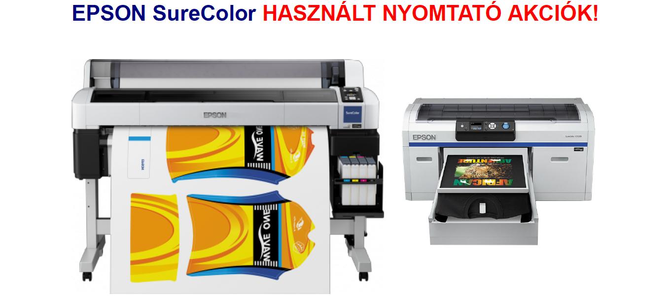 ELADÓ használt, megkímélt F6200, F6200 fluor és F2000 nyomtatók!