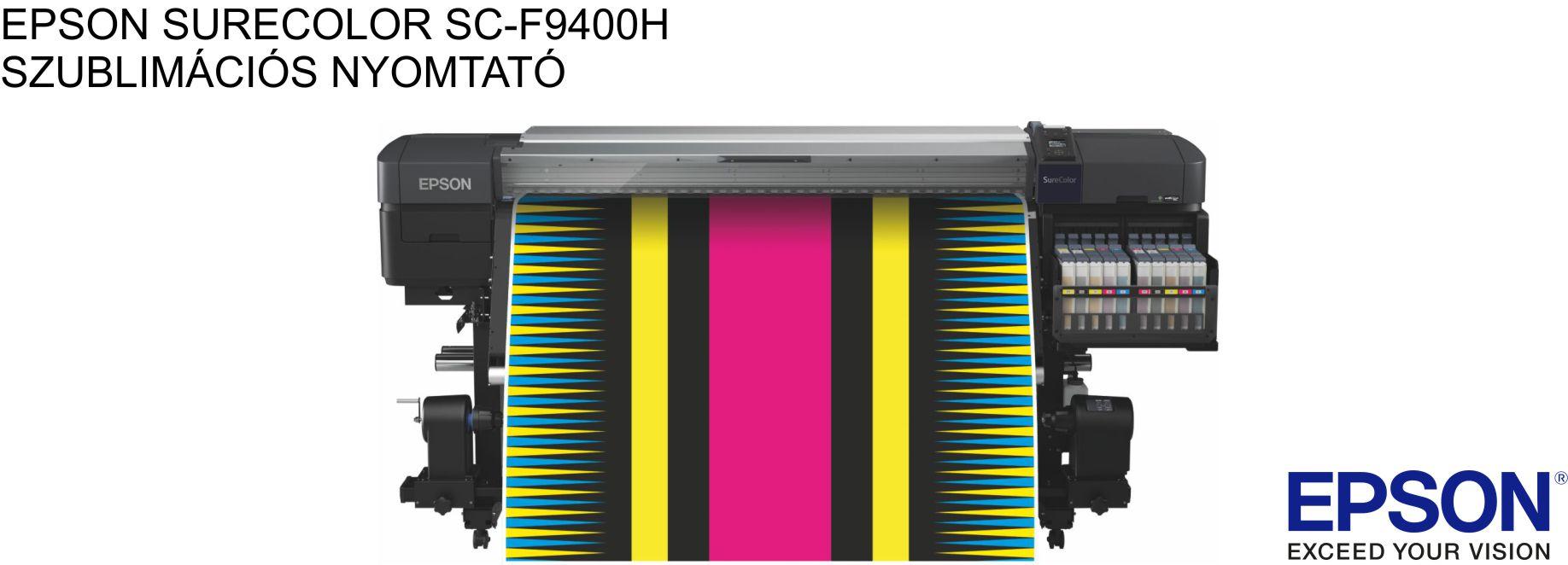 EPSON SURECOLOR SC-F9400H textil-szublimációs nyomtató MÁR ELÉRHETŐ!