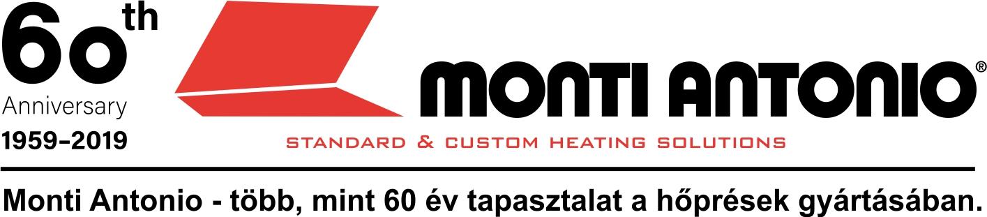 Monti Antonio sík és hengeres hőprések - 60 év tapasztalatát komolyan kell venni!