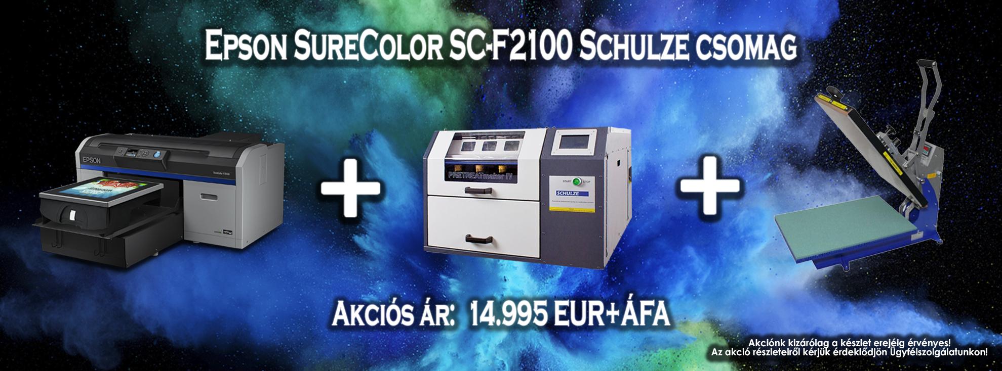 859f9b2b10 Sublimation Tech - Epson SureColor SC-F2100 Schulze csomag