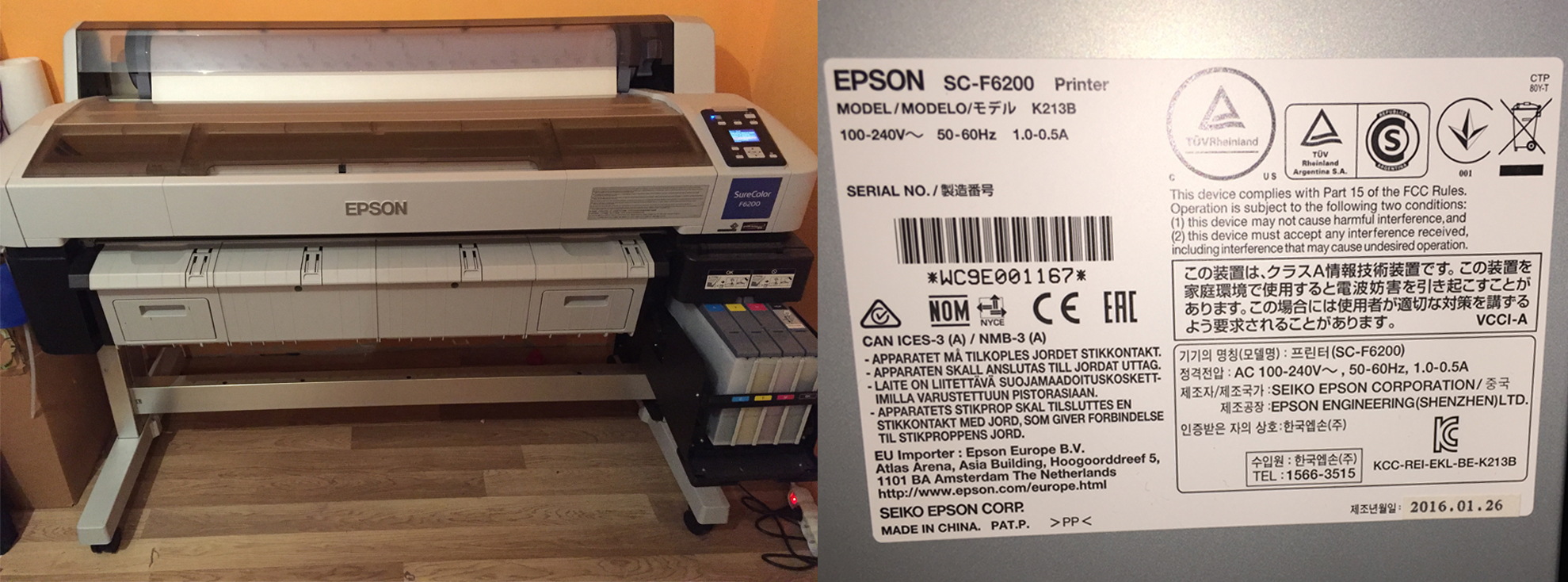 Eladó használt Epson SureColor SC-F6200!