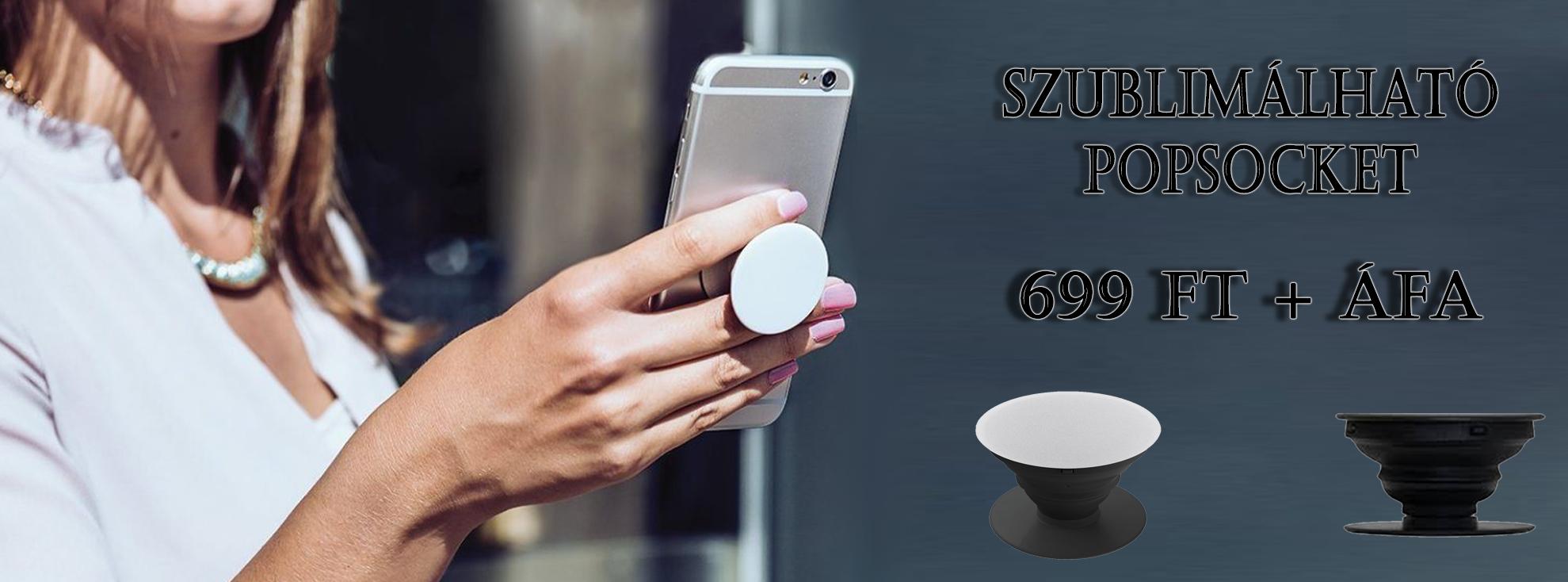 Új termék: PopSocket