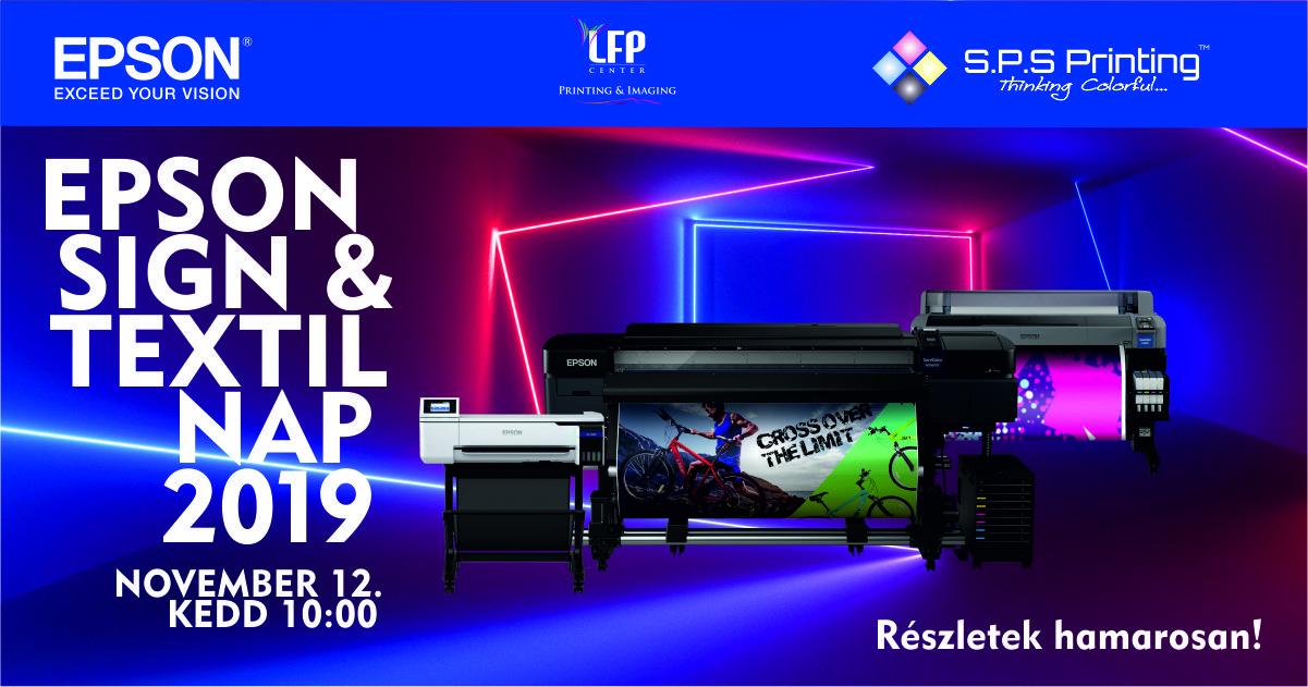 Epson Sign & Textil Nyílt Nap 2019